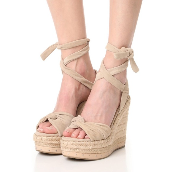 273826d214d5 Kendall + Kylie Suede Espadrille Wedge Sandal NWT